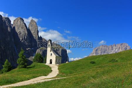 church mountains alps chapel high mountains