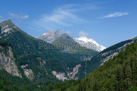 mountain with grossglockner