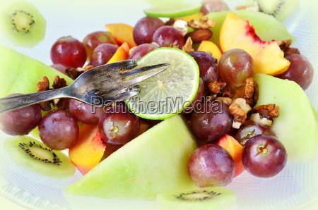 fresh fruit bizarre in a fruit
