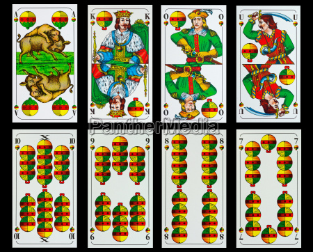 bavarian playing cards