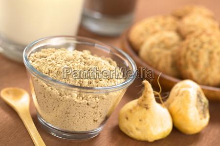 maca powder flour