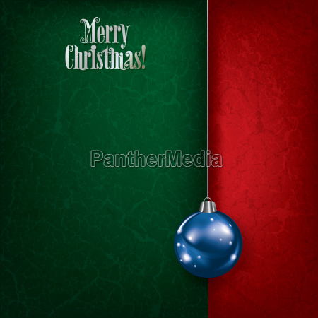 christmas grunge green background with blue