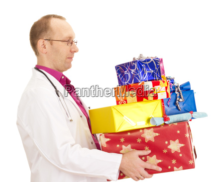 medical doctor with a lot of