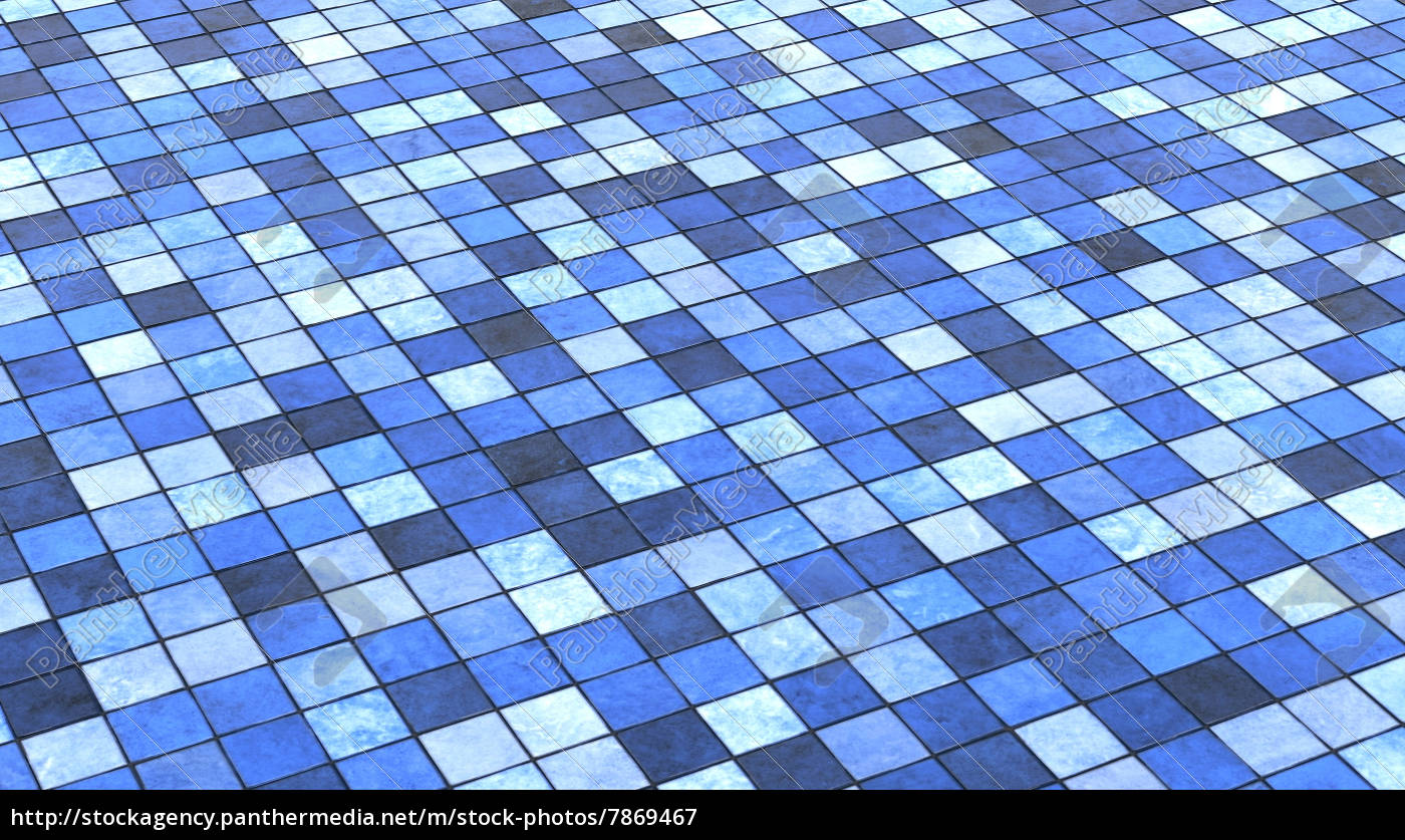 Background Floor Tiles Blue Colorful 02 Stock Photo 7869467