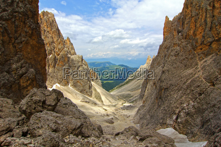 mountains valley mountain scenery countryside nature