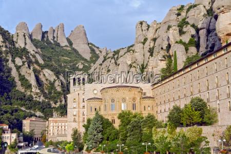 santa maria de montserrat monastery catalonia