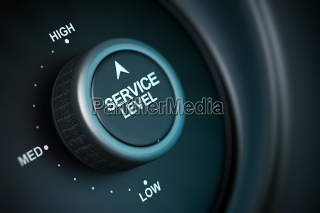 high service level