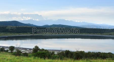 panoramic view around chambura gorge in