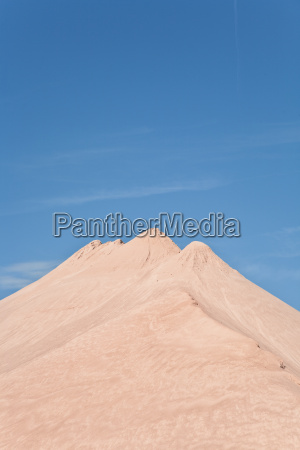 dune out of gravel pit