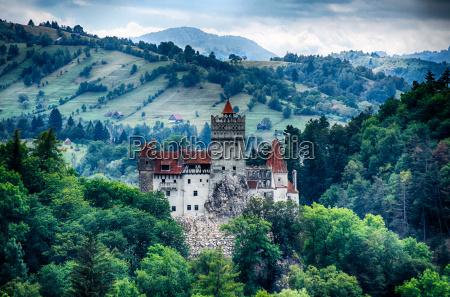 bran medieval castle transylvania romania