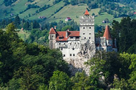 bran castle in transylvania romania