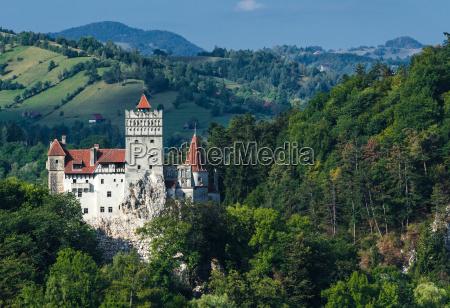 bran castle medieval landmark of transylvania