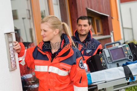 emergency house call doctor visit ambulance