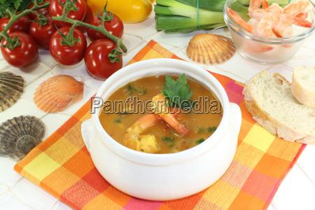 healthy bouillabaisse