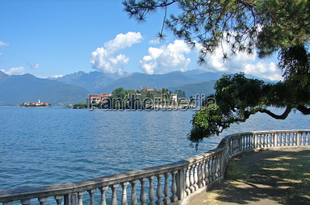 view of the isola bella
