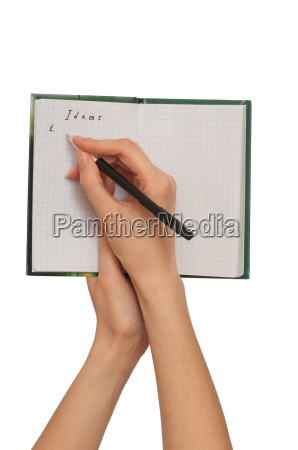 writes ideas
