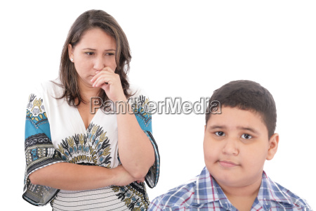 problems between mother and her son