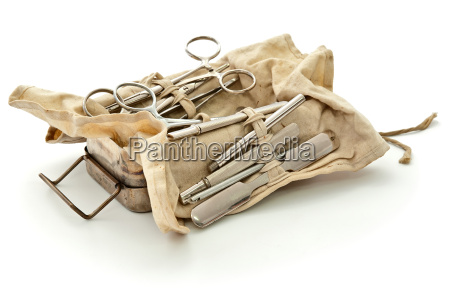 old military surgical set