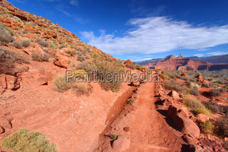 south kaibab trail of grand canyon