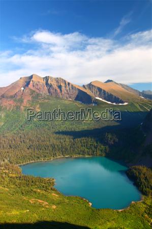 grinnell lake glacier national park