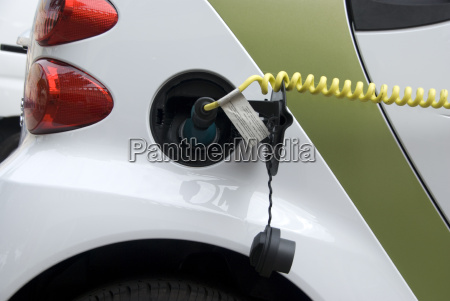 recharge the electric car