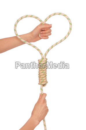 rope and heart