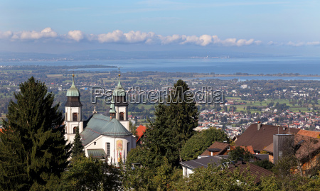view of the pilgrimage church of