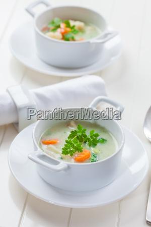 vegetable soup with bulgur