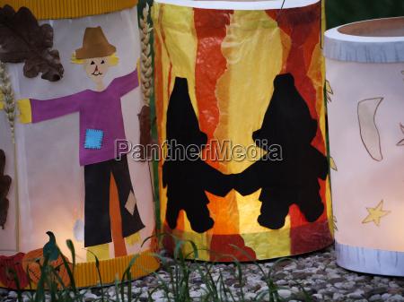 homemade lanterns