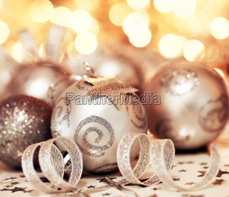 christmas tree bauble ornament and star