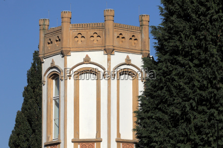 tower of a residential building