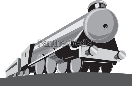 steam train locomotive retro