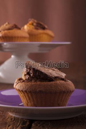 chocolateand vanilla muffins
