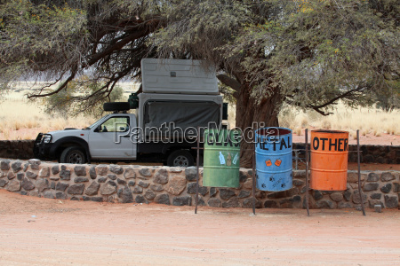 waste separation in namibia