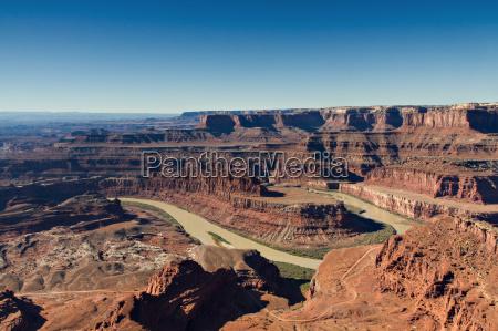 panorama of horseshoe bend