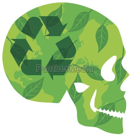 skullthinkgreen