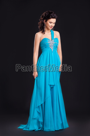 fashion, style., graceful, woman, in, classic - 8192617
