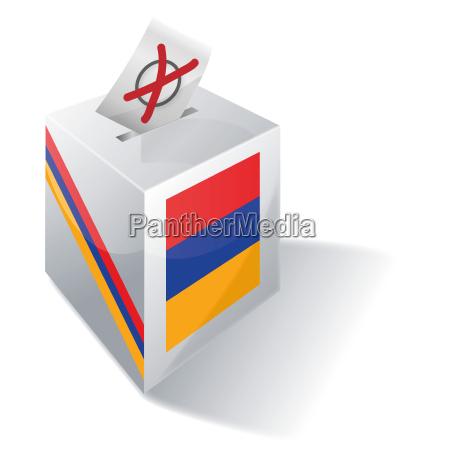 election box armenia