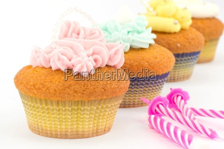 cupcakes with butter cream