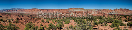 panorama point of the capitol reef