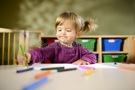 babies and fun child drawing at