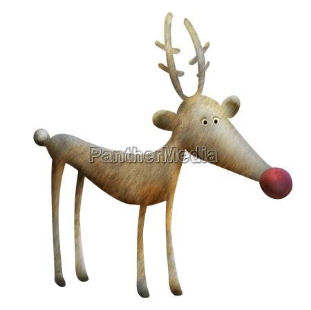 reindeer illustration