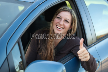successful autofahrerin