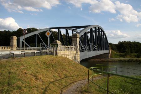bridge over the mittelland canal near