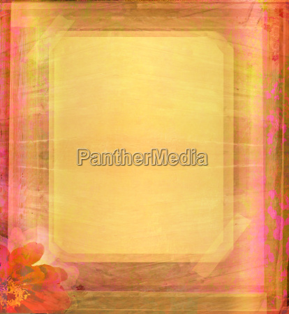 grunge frame for congratulation with