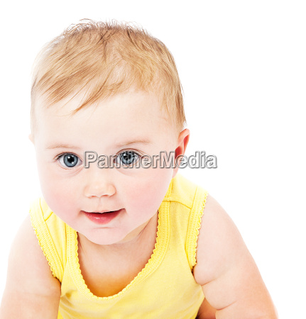 baby face portrait