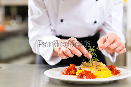cook cook in restaurant or hotel