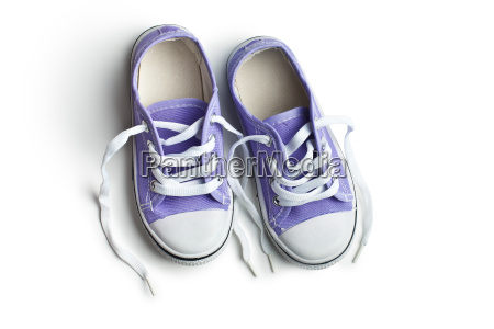 purple baby sneakers