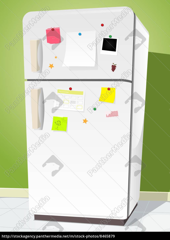 fridge, with, notes - 8465879