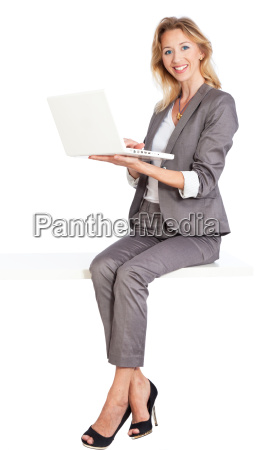woman sitting thumbs up